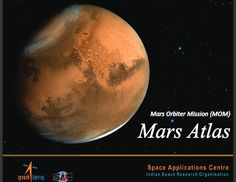 ISRO launches Mars Atlas to celebrate MOM's first anniversary. Mars Orbiter Mission, All Spark, Indian Space Research Organisation, Atlas, Free Books, Mom, Anniversary, Red Planet, Mars