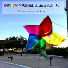 RAINBOW PINWHEEL: Endless Color Fun