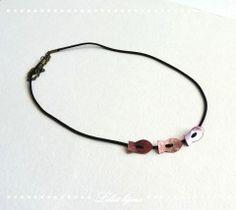 Headband bijou de tête petits poissons rose