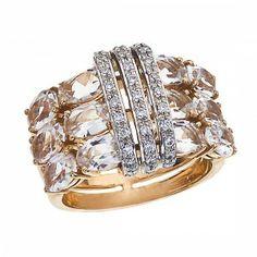 Topaz-diamond ring by Brumani