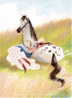 Calgary Cowgirl by imaginism.deviantart.com on @deviantART