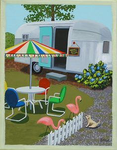 Mid Century Modern Eames Retro Limited Edition Print from