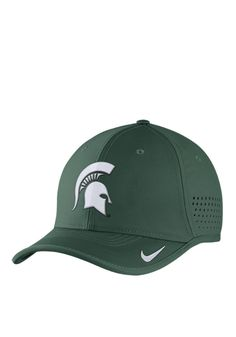 c5edaf94b53 Nike Michigan State Spartans Mens Green Vapor Sideline Coaches Adjustable  Hat