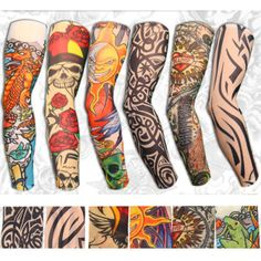 Cheap halloween Buy Quality sleeve tattoo directly from China halloween tattoo sleeve Suppliers: Hot Sale Style Unisex Women Men Temporary Fake Slip On Tattoo Arm Sleeves Kit Colletion Halloween Cute Group Halloween Costumes, Cute Costumes, Halloween Outfits, Halloween Halloween, Costume Ideas, Temporary Tattoo Sleeves, Arm Sleeve Tattoos, Arm Tattoo, Sugar Skull Face
