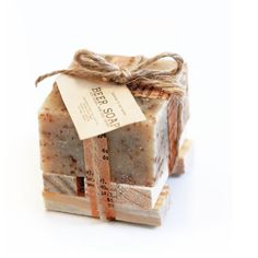 A Lil' BEER Soap with wooden soap dish Gift Set by leboxboutique, $5.65