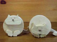 ちょいデブ丸猫 It is a fatty cat toy a little - YouTube