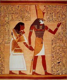 Relief représentant Horus