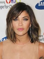 jessica szohr hair 2013 - Google Search. Cut color bangs! ❤️