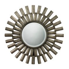 Bevel Mirror With Antique Silver Metal Mirrored Frame 114-18 by Sterling - Bevel Mirror With Antique Silver Metal Mirrored Frame 114-18 by SterlingSKU: 114-18Category: MirrorType: MirrorColor: Antique SilverFinish: Antique SilverMaterial: Glass / Metal / MdfKit Light: NoMirror Only Length: 15Mirror Only Height : 15Numbers of Cartons 1Country of Origin: ChinaMinimum Quantity: 1Dimensions_1: 30W x 1L x 36.38H, Weight: 18Carton Dimensions_1: 40.4W x 40.4L x 3.25H, Weight: 20