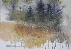 Ernie Verdine Watercolor