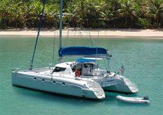 Luxury catamaran, sailing and Power Yacht Charters from Barrington Hall
