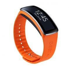 Wyraź siebie dzięki oryginej wymiennej bransoletce do Galaxy Gear Fit. Opaski możesz wymieniać w zależności od nastroju i okazji.  Produkt w kolorze pomarańczowym.