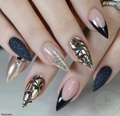 Beautiful nail art designs that are just too cute to resist. It's time to try out something new with your nail art. Nail Art Designs, Colorful Nail Designs, Nails Design, Solid Color Nails, Gel Nail Colors, Beautiful Nail Art, Gorgeous Nails, Amazing Nails, Trendy Nails
