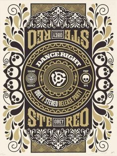 Shepard Fairey (Obey), Stereo