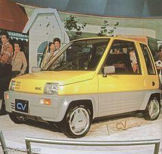 Mitsubishi - CV Kei Car, Microcar, Cars Land, Car Brochure, Smart Car, Japan Cars, Pedal Cars, Concept Cars, Motor Car