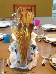 Italian cafe table decor