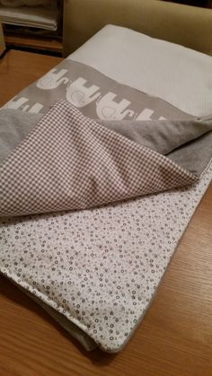 Quilted baby blanket