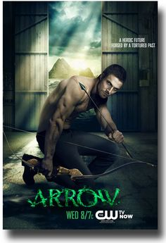 Arrow TV Show Poster Kneeling STephen Amell #StephenAmell #Arrow $9.84