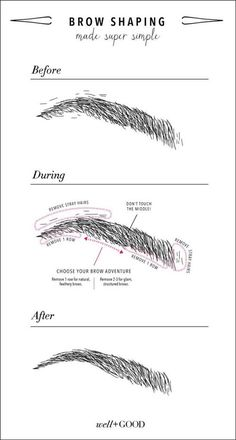 We've all been there — that horrifying moment when you realize the waxing lady took too much off your eyebrows, or when you accidentally pluck a group of hairs you did not want to remove. Sure, knowing how to properly fill in your eyebrows can make all the difference in your makeup routine, but if your brows are a mess to begin with, there's only so much you can do with gel, powder, etc. Follow these hacks to learn how to groom & shape your brows to perfection