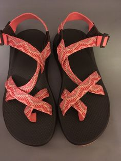 06d1c9c3a85 Chaco Classic Sandals - Women s Size 10 Pink Orange And Taupe