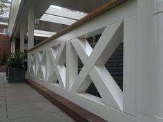 balustrade hek binnen - Google zoeken Outdoor Ideas, Stairs, Google, Home Decor, Stairway, Staircases, Interior Design, Ladders, Home Interior Design