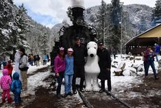 For a train ride that is as beautiful as it is delicious, climb aboard the Leadville Colorado & Southern Railroad for their Devil's Trail BBQ. Train Rides In Colorado, Scenic Train Rides, Living In Colorado, Colorado Usa, Colorado Trip, Vacation Trips, Vacations, Vacation Ideas, Vacation Spots