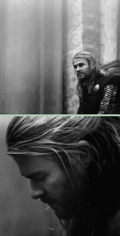 Chris Hemsworth as 'Thor' in 'Thor the Dark World.' - Do I need a reason to post this?!  Speaks for itself really.