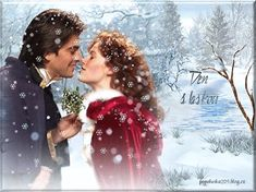 Gif Pictures, Snow Queen, Romance, Couple Photos, Couples, Maya, Gifs, Death, Winter