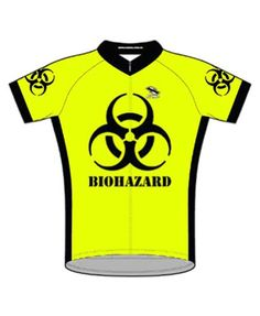 e484a662c Suarez Biohazard Bright HiViz Neon Yellow Cycling Jersey XL Mens  Shortsleeve   Find out more about