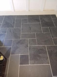 MSI Hampshire 12 in. x 12 in. Gauged Slate Floor and Wall Tile sq. / – The Home Depot – Diy Bathroom Remodel İdeas Bathroom Floor Tiles, Wood Bathroom, Wall Tiles, Small Bathroom, Industrial Bathroom, Bathroom Interior, Bathroom Ideas, Beige Bathroom, Cement Tiles
