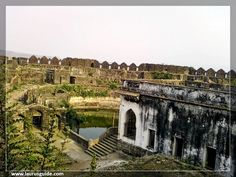 Inside the Janjira fort castle