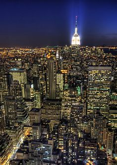 Empire State Building, New York City, United States.