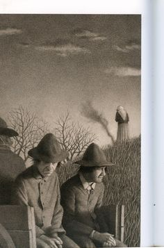 """The Widow's Broom"" by Chris Van Allsburg, 1992"
