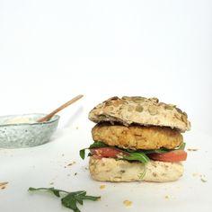 Vegan+kikkererwtenburgers