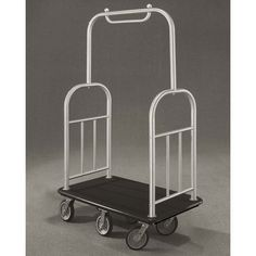 485 Glaro Deluxe Bellman Cart with 15 Diameter Tubing and 6 Pneumatic Wheels  With Numerous Color Choices *** More info could be found at the image url. (This is an affiliate link)