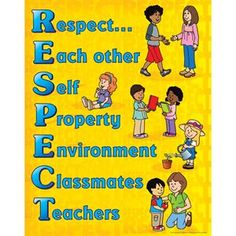 Develop Respect Among Peers With An Easy Acrostic Poem