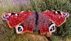 Beautiful freeform crochet by Sylvia Cosh