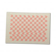 letterdance arrows NEON, letterpress postcard