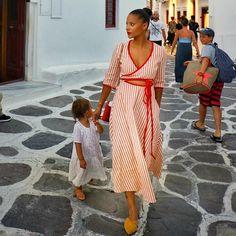 Beyond the beautiful beaches, Mykonos has the cutest little town. Denise Vasi