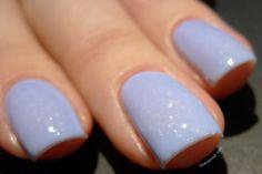Dance Legend - Mist Way - Get Bored: periwinkle light blue flakie nail polish