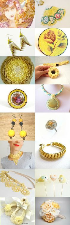 Soft Yellow and Pretty by Mel on Etsy--Pinned with TreasuryPin.com https://www.etsy.com/shop/BLPhotography