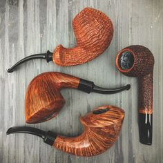Smooth your transition back to into the week with fresh pipes from Lasse, Nate King, and Sam Cui. On site now at Smokingpipes.com.