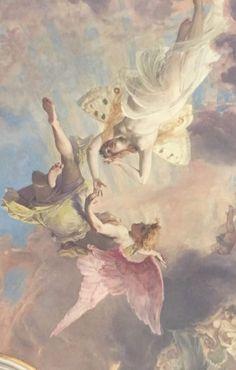 Angel Aesthetic, Aesthetic Vintage, Aesthetic Art, Aesthetic Painting, Beige Aesthetic, Renaissance Paintings, Renaissance Art, Aesthetic Backgrounds, Aesthetic Wallpapers