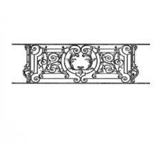 Pierre-Henri wrought iron railing sticker - Koziel