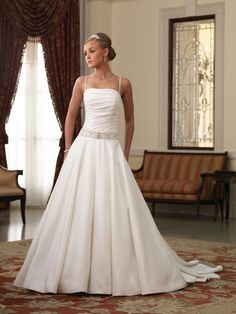 Beautiful Wedding Dresses With Straps : Alluring Wedding Dresses With Straps