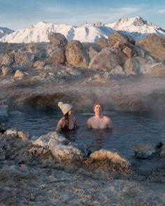 Hot Springs in California Eastern Sierras