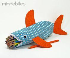 Shark Pencil Pouch