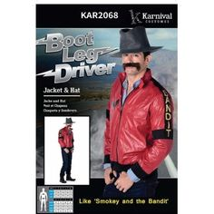 Smokey and the Bandit Inspired Party Costume