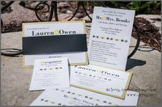 Mod Circles Wedding Invitations  SAMPLE SET  Silver Level by r3mg, $7.00