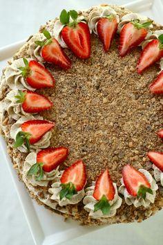 toffee brownie torte 1 by annieseats, via Flickr